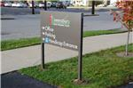 GSC 400 Series Directional Sign United Methodist Church Greensburg IN