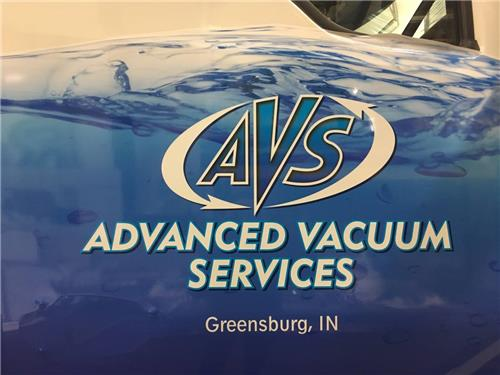 GSC-100-Green-Sign-Series-Vehicle-Graphics-Advanced-Vacuum-Services-Greensburg-IN
